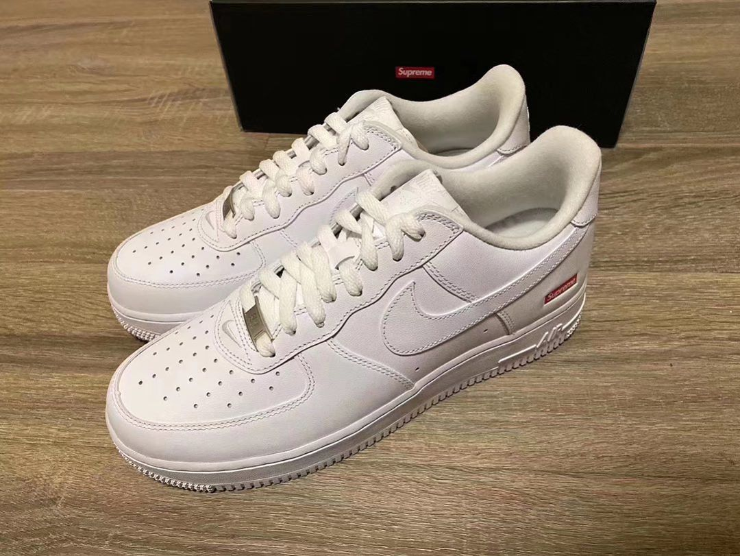 SUPREME x NIKE AIR FORCE 1 LOW 2020 FIRST LOOK UNVLD